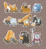 Стикеры тележки Стоковое фото RF