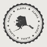 Стикер вектора Аляски бесплатная иллюстрация