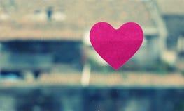 Стикер влюбленности Стоковое Изображение