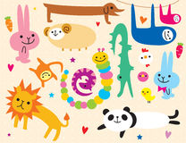 стикер животных бесплатная иллюстрация