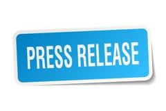 Стикер официального сообщения для печати иллюстрация штока