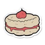 стикер печенья мультфильма бесплатная иллюстрация