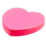 стикер сердца розовый Стоковые Изображения RF