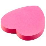 стикер сердца розовый Стоковое Фото