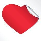 стикер сердца Бесплатная Иллюстрация