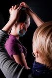 стилизатор волос способа Стоковое Изображение RF