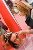 стилизатор волос стоковое фото