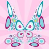 Стилизованная бабочка Стоковое фото RF