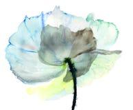 Стилизованная иллюстрация цветка Стоковое Изображение RF