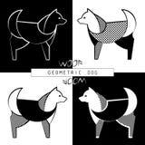 Стилизованная модель собаки Стоковые Изображения RF