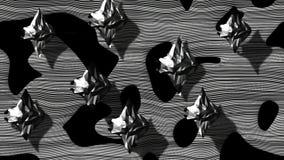 Стилизованная петля стада Manta сток-видео