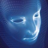 Стилизованная сторона 3D Стоковые Изображения RF