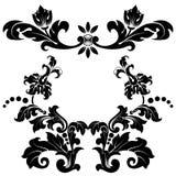 Стилизованная флористическая картина Стоковые Фотографии RF