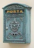 стилизованное postbox ретро Стоковая Фотография