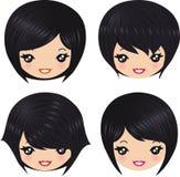 стили причёсок Стоковое Изображение RF