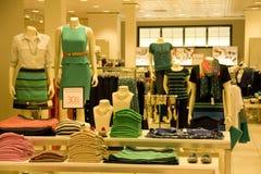 Стильная одежда женщины стоковое изображение