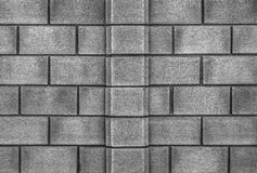 Стильная предпосылка каменной стены в черно-белом Стоковые Изображения