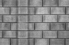 Стильная предпосылка каменной стены в черно-белом Стоковое Изображение RF
