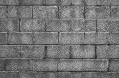 Стильная предпосылка каменной стены в черно-белом Стоковое фото RF