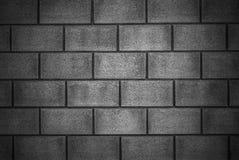 Стильная предпосылка каменной стены в черно-белом Стоковая Фотография RF