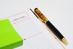 Стильная ручка стоковые изображения rf