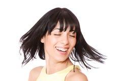 Стильная съемка славной молодой женщины стоковая фотография