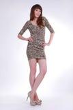 Стильная шикарная девушка Стоковое фото RF