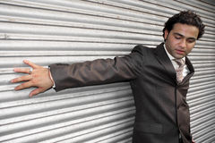 стильное бизнесмена индийское стоковое изображение