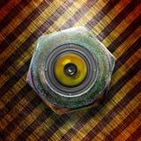 стильное громкоговорителя металлическое Стоковое Изображение RF
