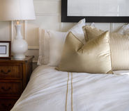стильное конструкции спальни нутряное Стоковое Изображение RF