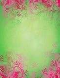 стильное предпосылки флористическое сделанное по образцу Стоковое Изображение