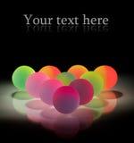 стильное шариков цветастое Стоковые Изображения RF