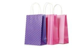 Стильные хозяйственные сумки Стоковая Фотография RF