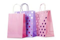 Стильные хозяйственные сумки Стоковые Изображения
