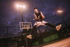 Стильный баскетболист Стоковая Фотография RF