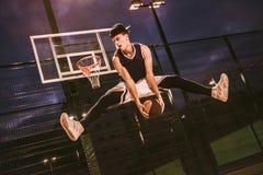 Стильный баскетболист Стоковые Изображения