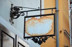 Стильный магазин, модель-макет знака ресторана Стоковые Фотографии RF