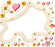 Стильный объем от camomiles Стоковое Фото