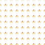 Стиль безшовной руки мультфильма цыпленока картины милой вычерченный стоковая фотография