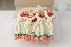 Стиль гирлянды свадьбы тайский Стоковое Фото