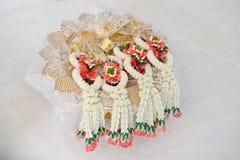 Стиль гирлянды свадьбы тайский Стоковое Изображение RF