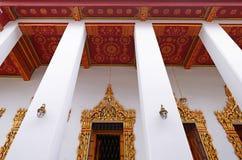Стиль древнего храма в виске Таиланда Стоковые Изображения RF