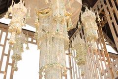 Стиль люстры гирлянды тайский Стоковые Изображения