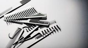 стиль причёсок вспомогательного оборудования Стоковое Фото