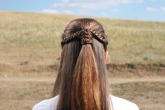 стиль причёсок Стоковое фото RF