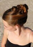 стиль причёсок Стоковые Фото