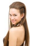 стиль причёсок Стоковая Фотография RF