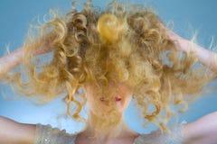 стиль причёсок Стоковое Изображение RF