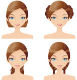 стиль причёсок бесплатная иллюстрация