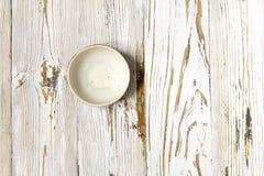 Стиль пустой предпосылки шара белой деревянной винтажной деревенский Стоковые Изображения